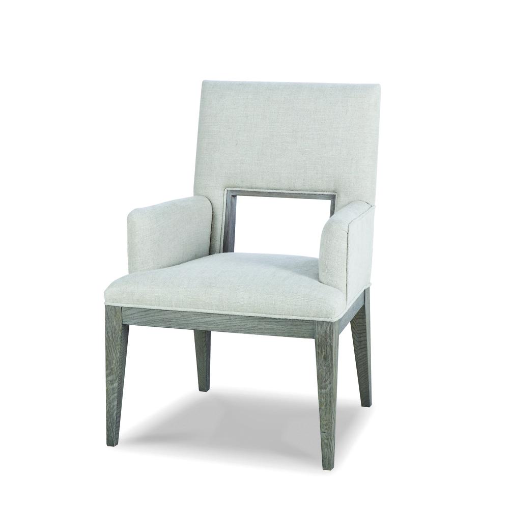 CENTURY FURNITURE - Kendall Oak Arm Chair