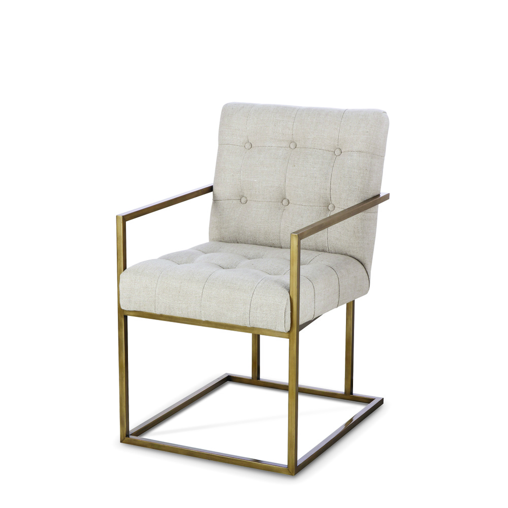 Century Furniture - Kendall Metal Arm Chair