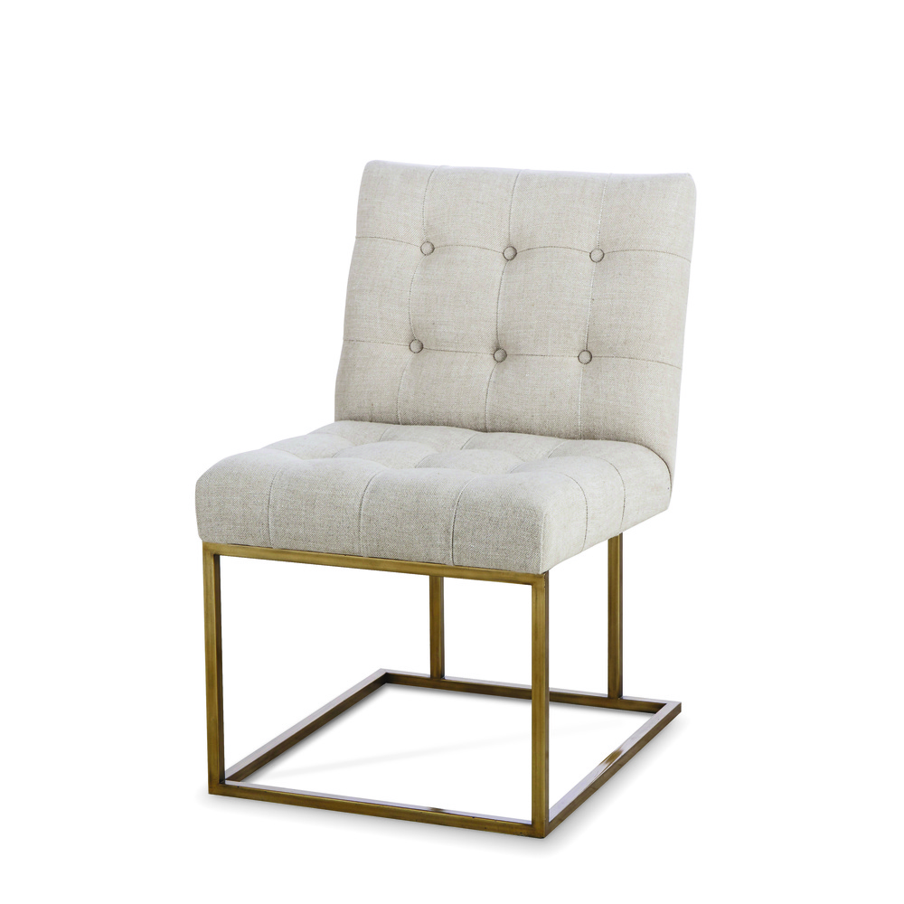 Century Furniture - Kendall Metal Side Chair