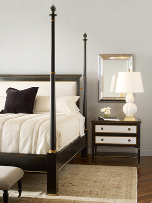 Thumbnail of Century Furniture - Barrington Poster Bed with Upholstered Headboard, King