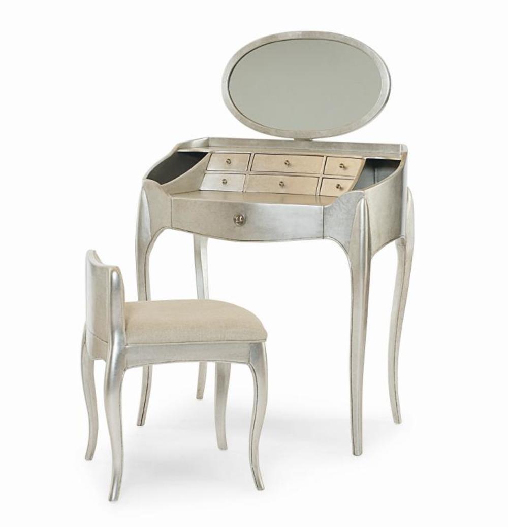 Century Furniture - Pierre Vanity w/ Mirror & Vanity Chair