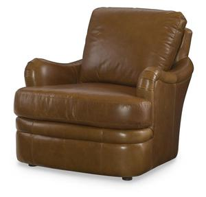 Thumbnail of Century Furniture - Leather Chair w/ Ottoman