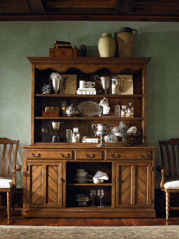 Century Furniture - Salem Credenza and Hutch