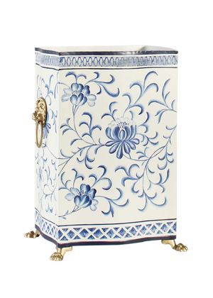 Thumbnail of Chelsea House - Blue and White Wastebasket