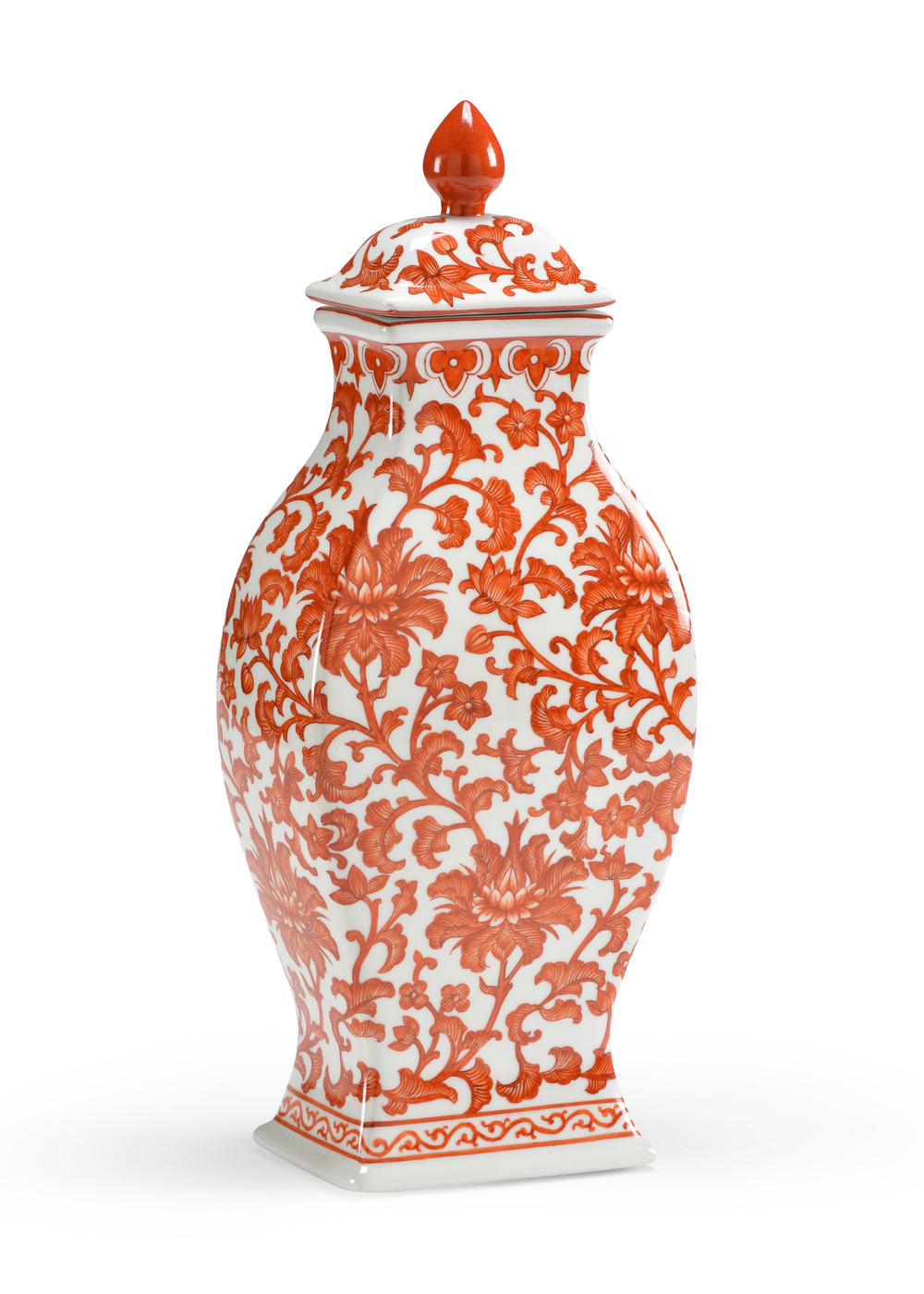 Chelsea House - Pumpkin Rectangular Vase