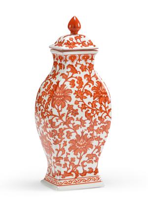 Thumbnail of Chelsea House - Pumpkin Rectangular Vase