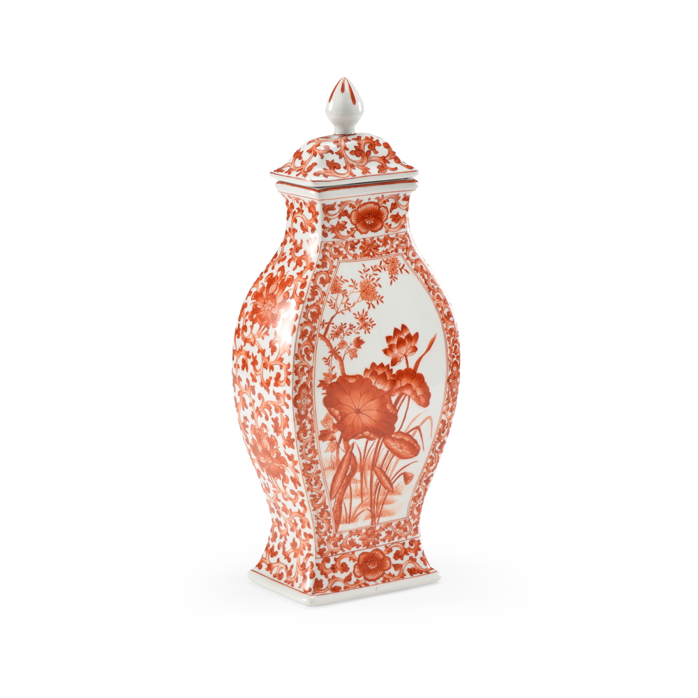 Chelsea House - Covered Lotus Leaf Vase