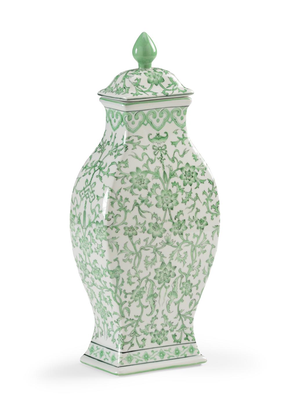 Chelsea House - Green Covered Urn