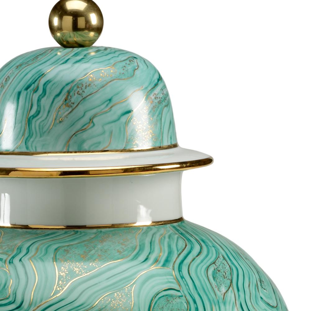 Chelsea House - Malachite Marbled Urn