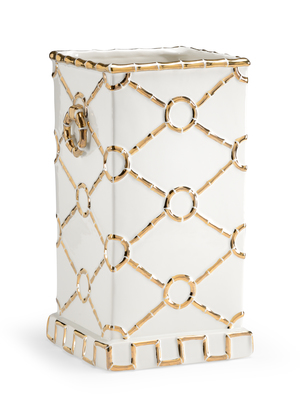 Thumbnail of Chelsea House - Square Ring Vase in Gold