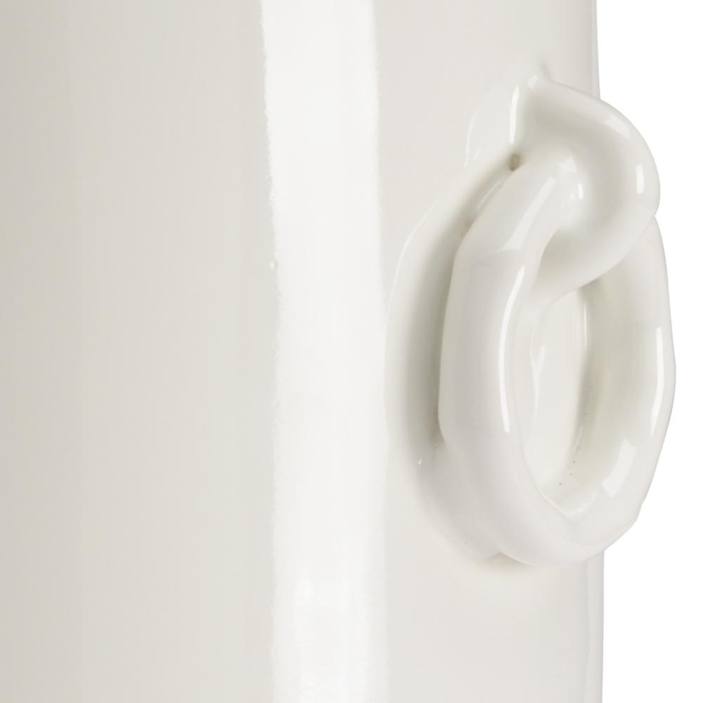 Chelsea House - Ring Vase in White