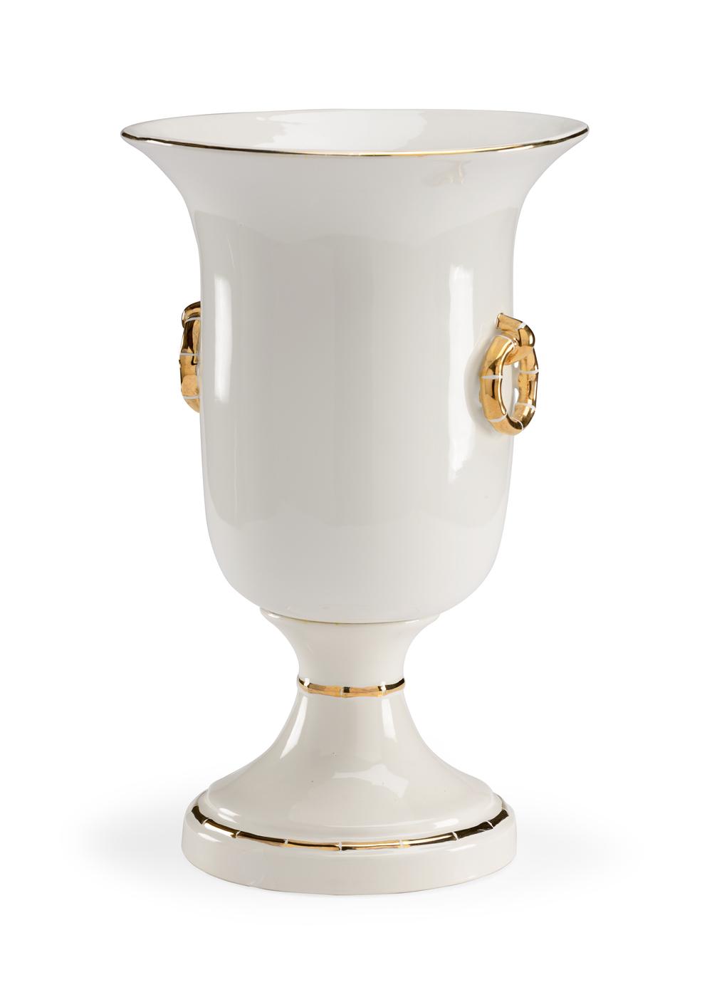 Chelsea House - Ring Vase in Gold