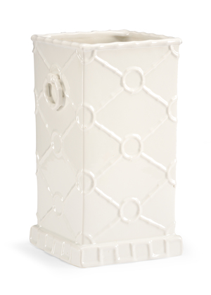 Thumbnail of Chelsea House - Square Ring Vase in White