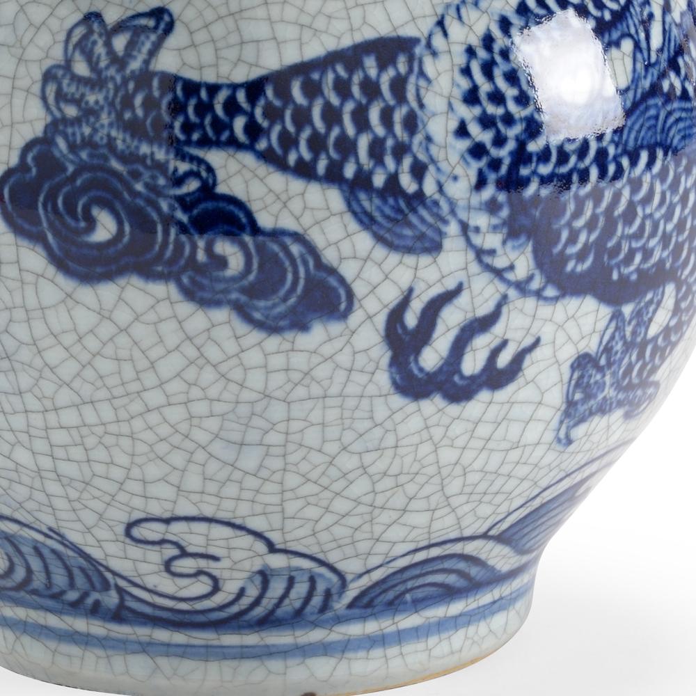 Chelsea House - Dragon Crackle Vase