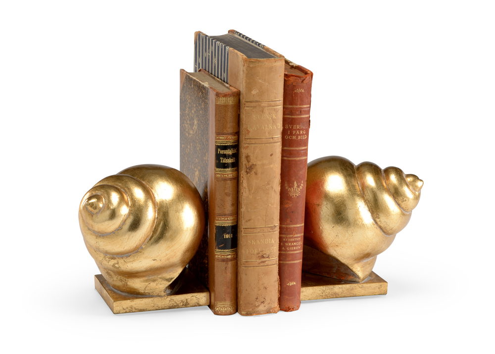 Chelsea House - Shell Bookends, Pair