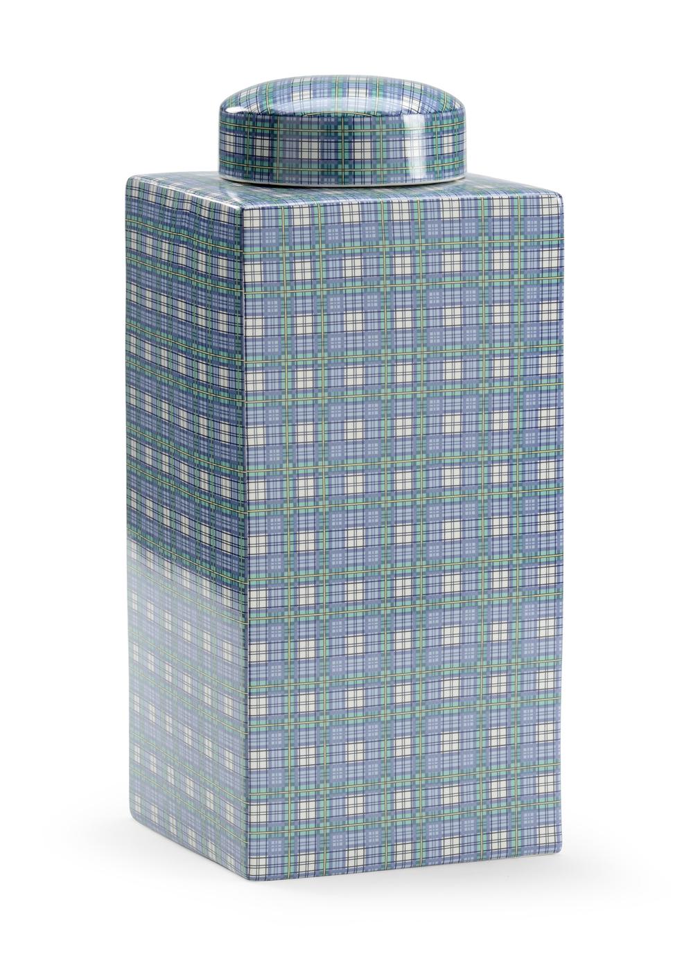 Chelsea House - Gordon Plaid Vase