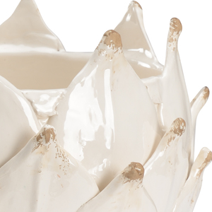 Thumbnail of Chelsea House - White Leaf Vase