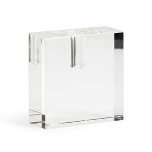 Thumbnail of Chelsea House - Rectangular Crystal Candlestick