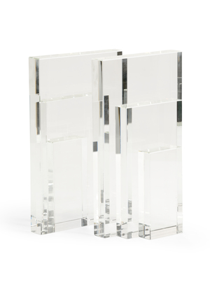 Thumbnail of Chelsea House - Crystal Bookends, Pair
