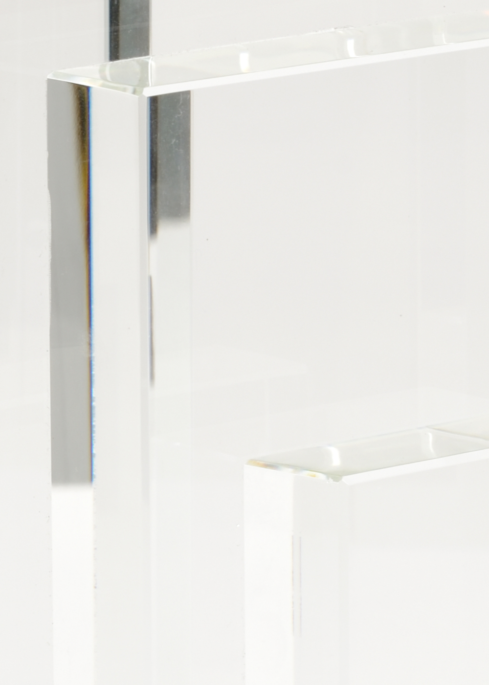 Chelsea House - Crystal Bookends, Pair