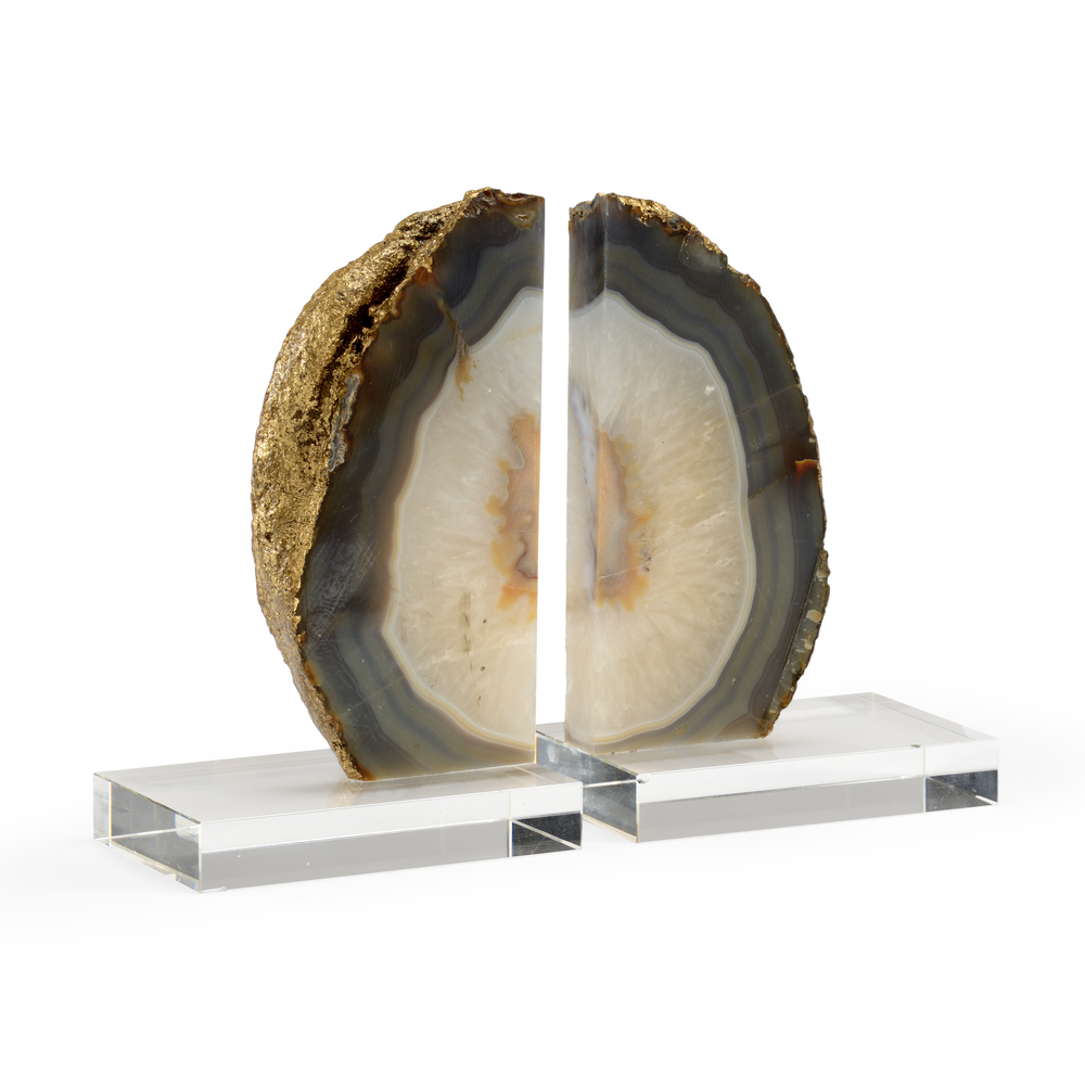 Chelsea House - Geode Bookends