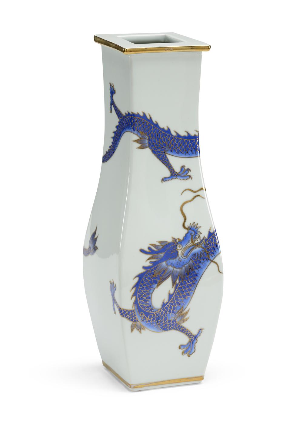 Chelsea House - Blue Dragon Vase