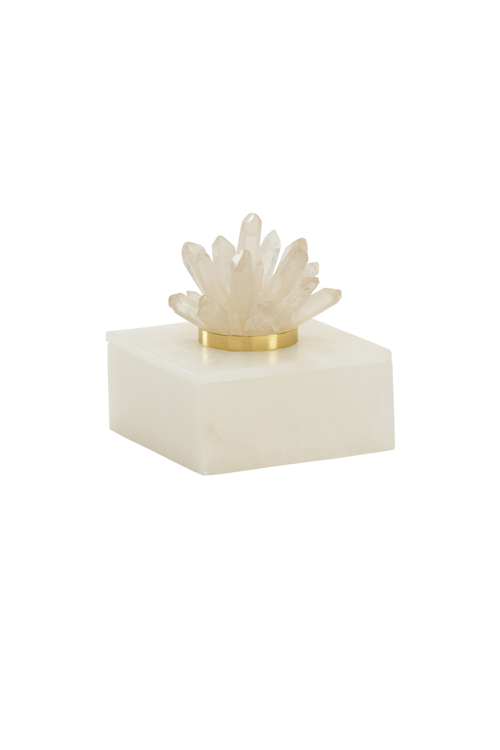 Chelsea House - Alabaster and Crystal Box