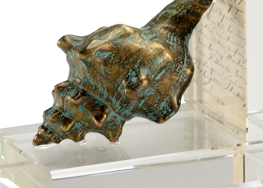 Chelsea House - Shell Bookends