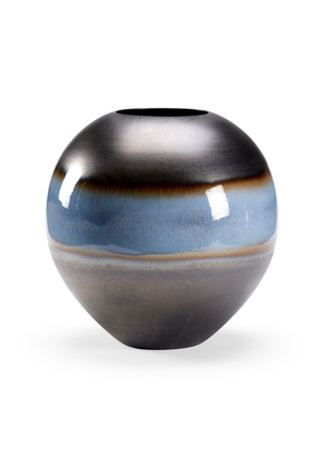 Thumbnail of Chelsea House - Blue Rain Round Vase