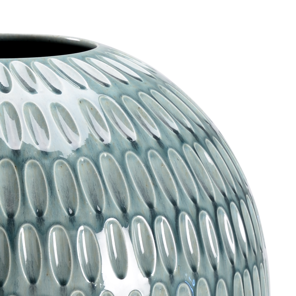 Chelsea House - Round Dimpled Vase