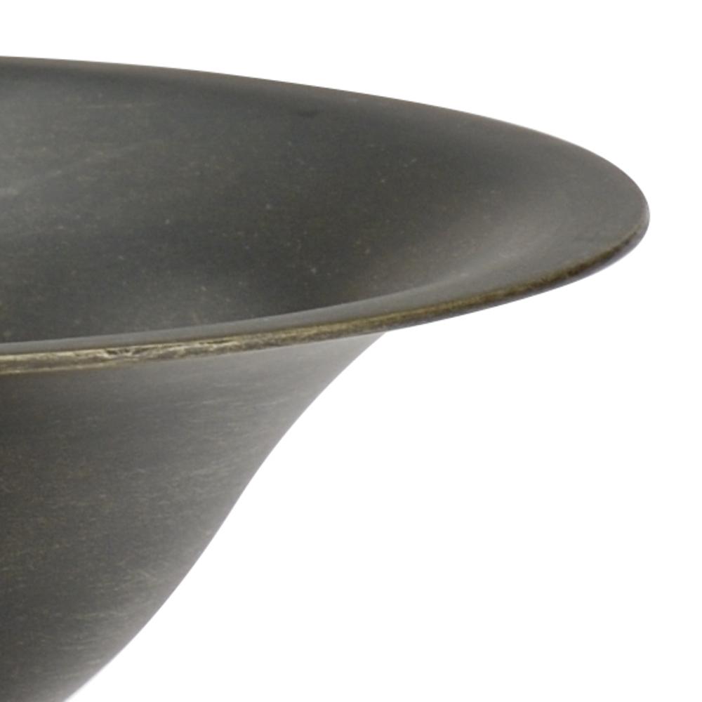 Chelsea House - Bronze Pedestal Bowl