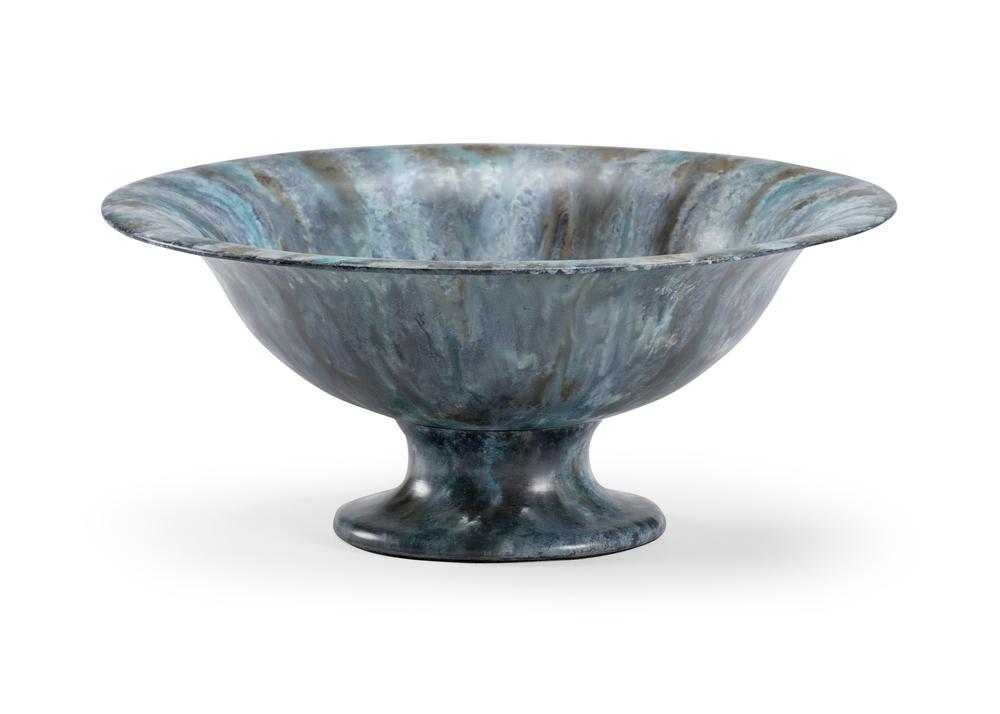 Chelsea House - Zinc Pedestal Bowl