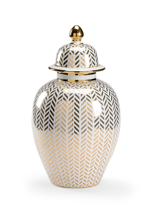 Thumbnail of Chelsea House - Herringbone Covered Urn