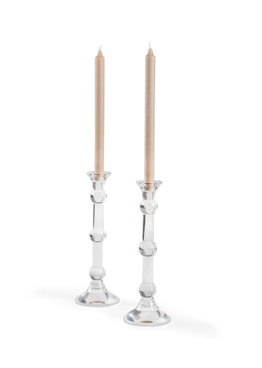 Chelsea House - Gleason Candlesticks, Pair