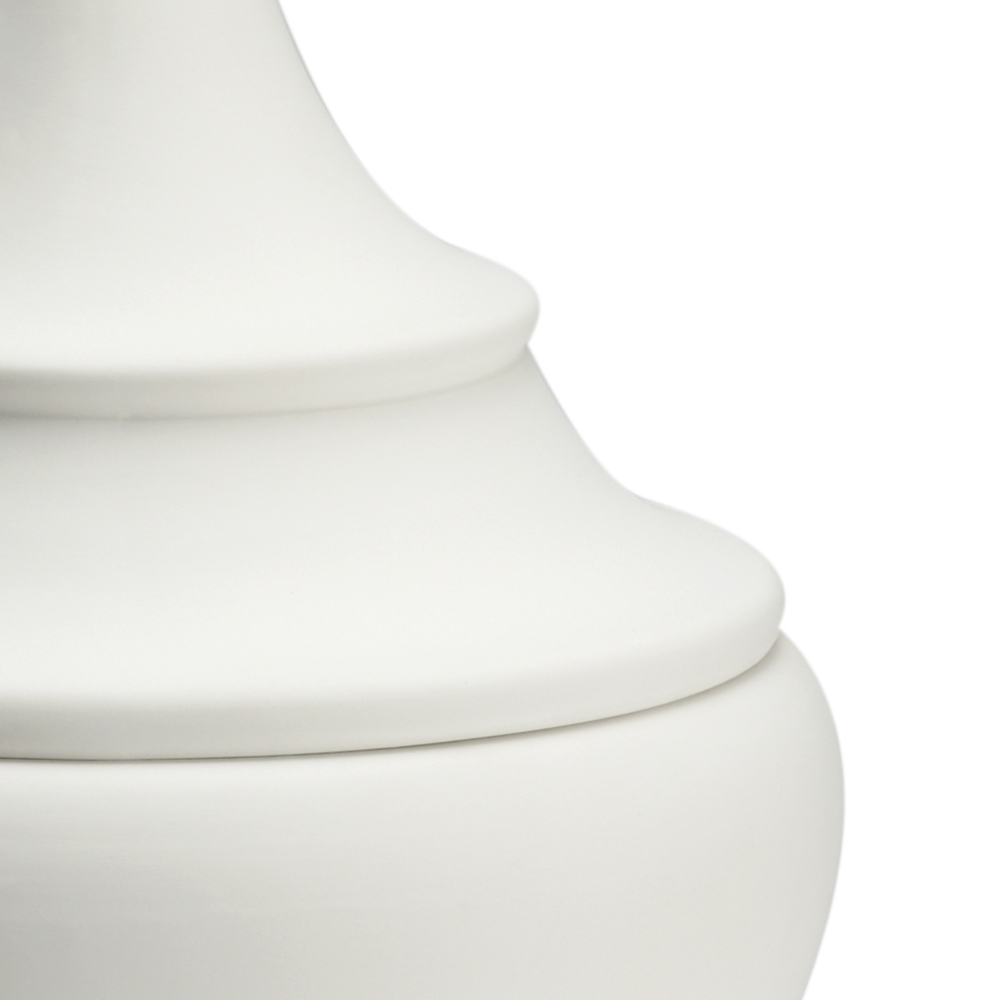 Chelsea House - Bisque Finial Urn