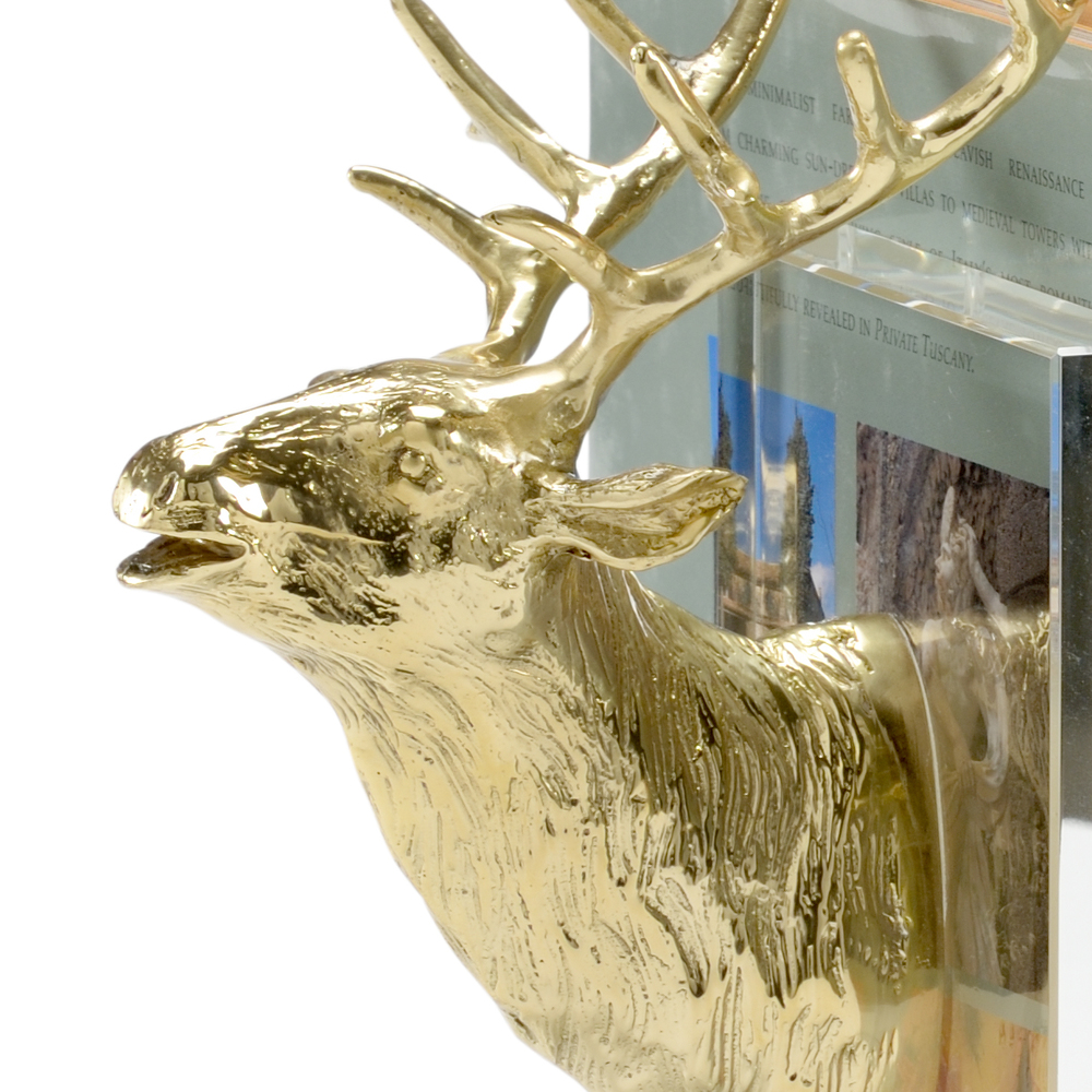 Chelsea House - Stag Bookends, Pair