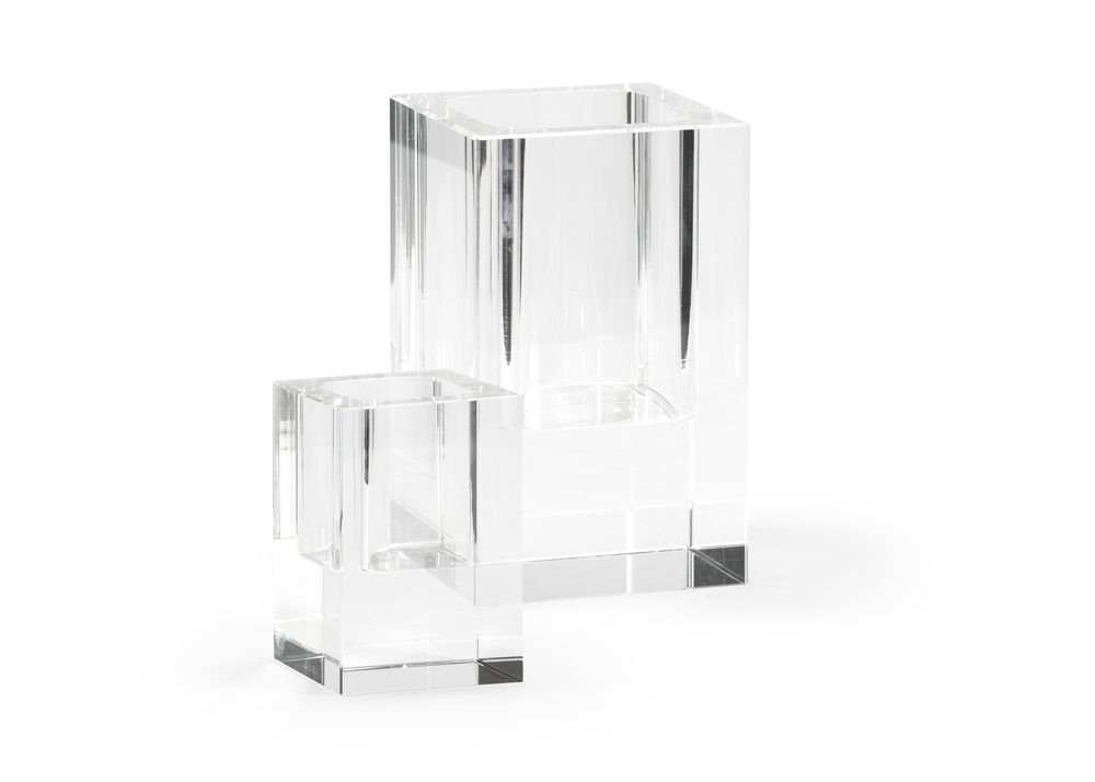 Chelsea House - Crystal Candle Holders, Set/2