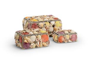 Thumbnail of Chelsea House - Shell Boxes, Set/3