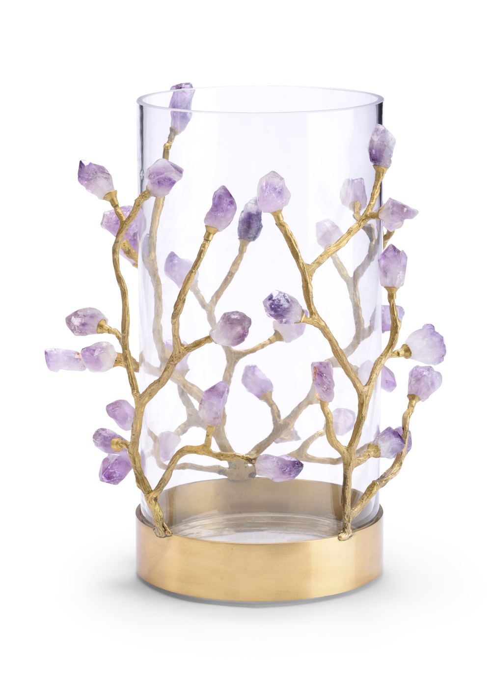 Chelsea House - Vase with Purple Crystal