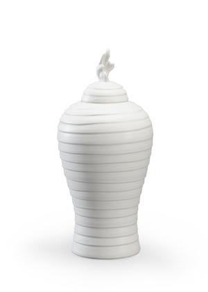 Thumbnail of Chelsea House - Matte White Hive Urn