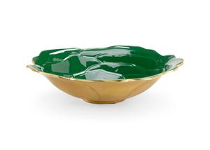 Thumbnail of Chelsea House - Green Enameled Bowl