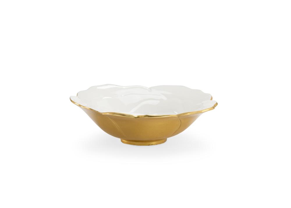 Chelsea House - White Enameled Bowl