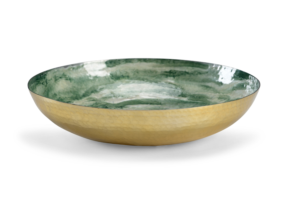 Chelsea House - Swirl Green Bowl