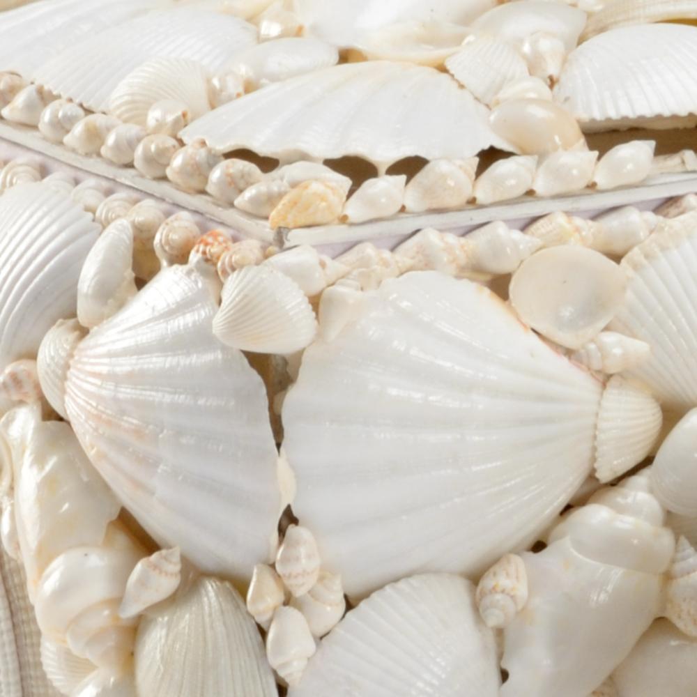 Chelsea House - White Shell Boxes