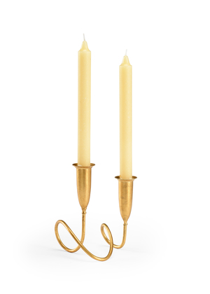 Thumbnail of Chelsea House - Gold Fortnum Candlestick