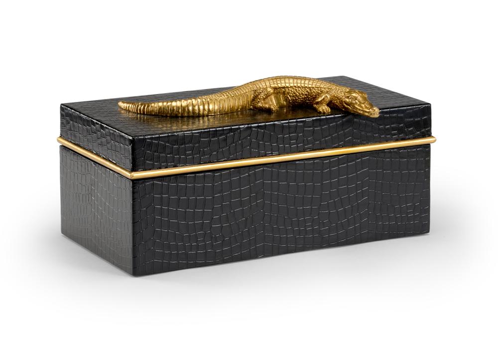 Chelsea House - Alligator Box, Black