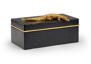 Thumbnail of Chelsea House - Alligator Box, Black