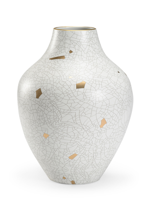 Thumbnail of Chelsea House - Gold Crackle Large Urn