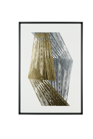 Thumbnail of Chelsea House - Gold and Silver Foil Stripes