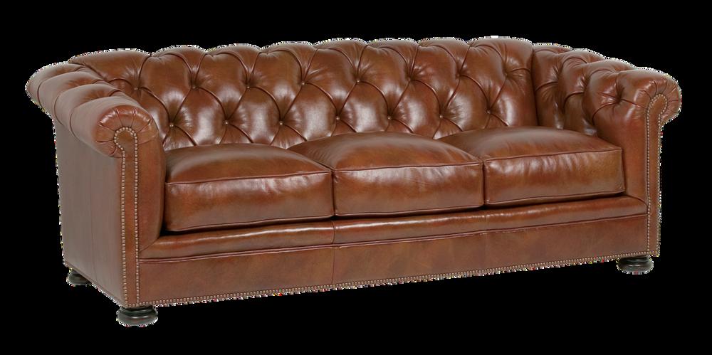 Classic Leather - Montclair Tufted Sofa